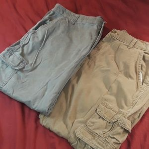 2 pair of Wrangler Cargo Pants